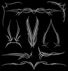pinstripe-021 vector image vector image