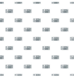 Accordion pattern seamless vector