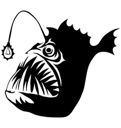 Angler Fish vector image