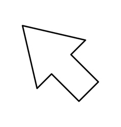 Arrow pointer cursor icon vector