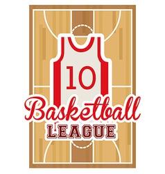 Basketball design vector image