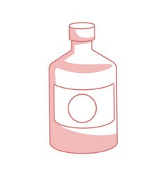 bottle medicine pharmacy element health vector image
