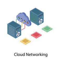 Cloud networking vector