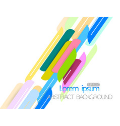 Colors shape abstract vector