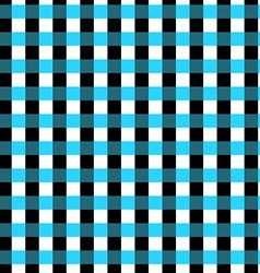 Seamless geometric gingham pattern abstract vector