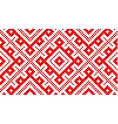 Seamless russian traditional ornament vector