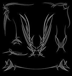pinstripe-022 vector image vector image
