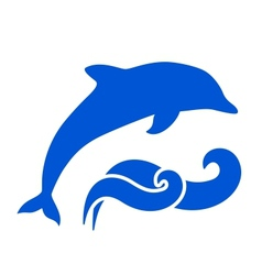 Dolphin Silhouette vector image