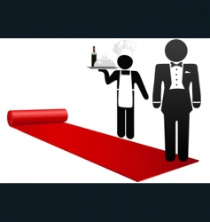 hospitality industry vector image