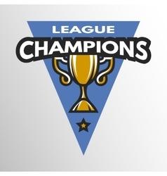 Champions league logo vector