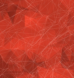 Abstract Geometric Polygonal Mesh Wire Background vector image