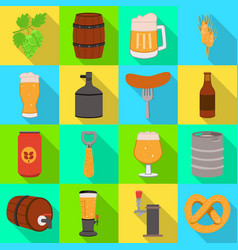 brewery and brewing logo vector image