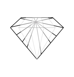 Diamond luxury fashion vector