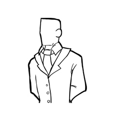 Man icon Person and cartoon graphic vector image