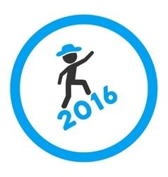 Person Climbing 2016 Icon vector image