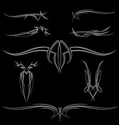 pinstripe-024 vector image