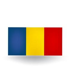 Romanian Flag vector image