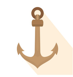 Isolated anchor icon vector