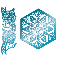 islamic design element vector image vector image