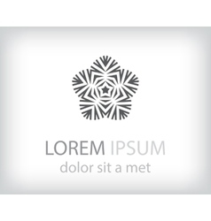 logo element vector image vector image