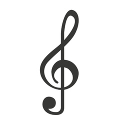 music note isolated icon design vector image