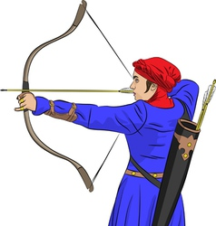 archer vector image