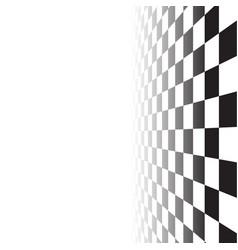 Black white random square mosaic tiles background vector