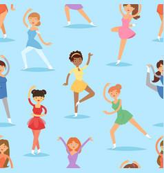 figure ice skater women beauty sport girls vector image