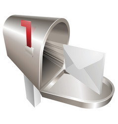 mailbox concept vector image