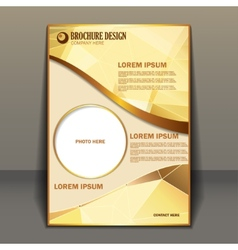 Presentation of business poster vector