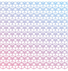 seamless geometric gradient background texture vector image