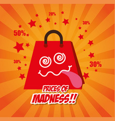 Shopping special offers vector