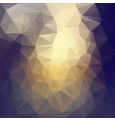 Triangle abstract background with highlights vector