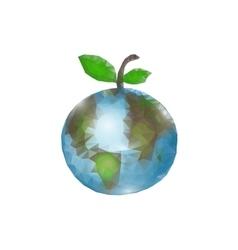 World Health Day Globe on vector