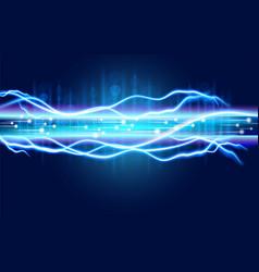 Abstract digital optical fiber technology vector