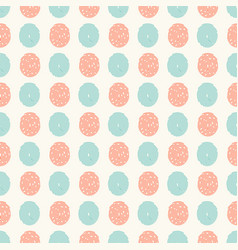 abstract seamless pattern with fingerprints vector image