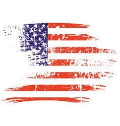 america flag vector image