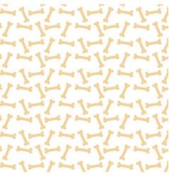 animal bones toy pet pattern textile decoration vector image