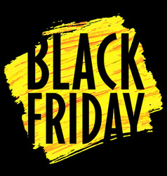 Banner template black friday trend vector