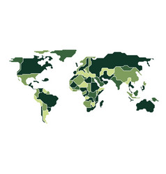 Camouflage map vector
