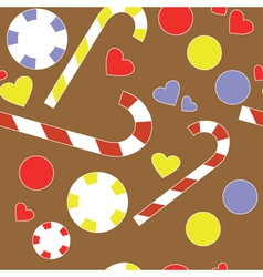 Candy background vector