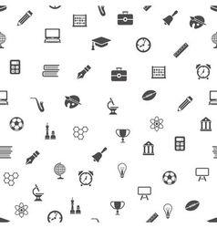 Education seamless pattern vector