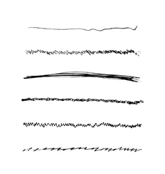 Handdrawn Brushes Set vector