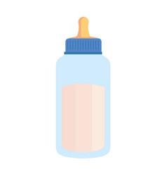 milk bottle baby icon vector image