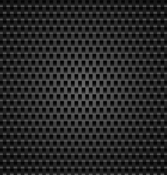 Perforated leather vector image