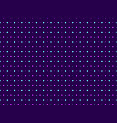 seamless pattern polka dot violet color pop art vector image