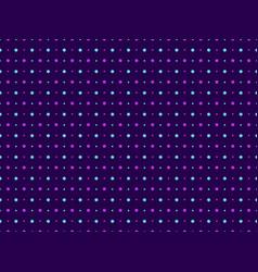Seamless pattern polka dot violet color pop art vector