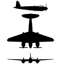 De Havilland DH 98 Mosquito vector image vector image