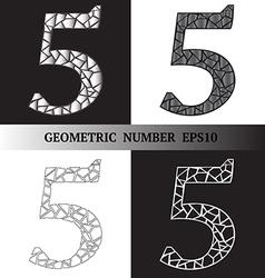 Five geometric vector