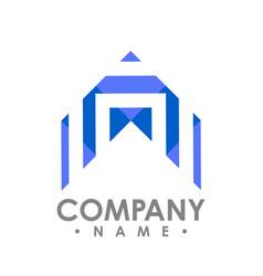 Abstract realty logo - logo concept abstract vector